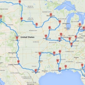 Do the 48 states road trip - Bucket List Ideas