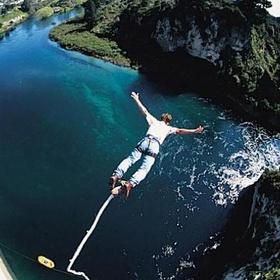 Go bungee jumping! - Bucket List Ideas