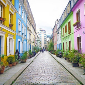 Walk on Rue Crémieux in Paris, France - Bucket List Ideas