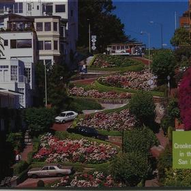 Drive on Lombard Street - Bucket List Ideas