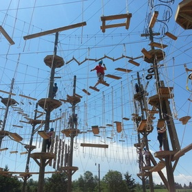 Complete the Rise and Climb Adventure Course - Bucket List Ideas