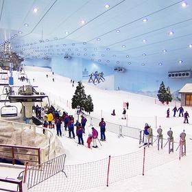 Ski in the mall of emirates - Bucket List Ideas