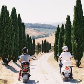 Ride a Vespa in Tuscany - Bucket List Ideas