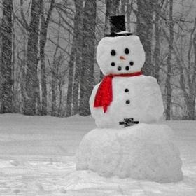 Make a proper snowman - Bucket List Ideas