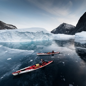 Go on a kayak expedition in Greenland - Bucket List Ideas