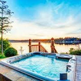 Stay in a luxury lodge with a hot tub, United Kingdom - Bucket List Ideas