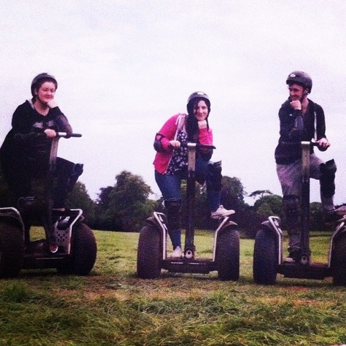 Ride a segway - Bucket List Ideas