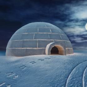 Build an igloo and sleep there - Bucket List Ideas