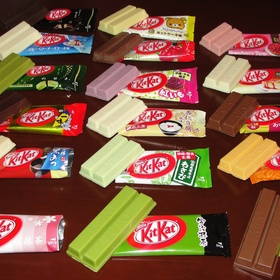 Try 10 different Kit Kat Flavors - Bucket List Ideas