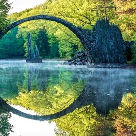 Visit the Rakotzbrücke in Germany - Bucket List Ideas
