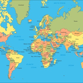 Visit every country in the world - Bucket List Ideas