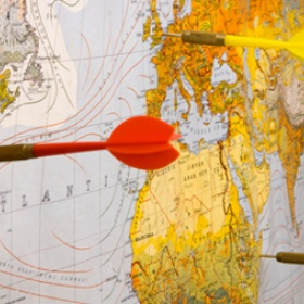 Throw a dart at a map and travel to where it lands - Bucket List Ideas