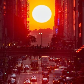 See Manhattanhenge - Bucket List Ideas