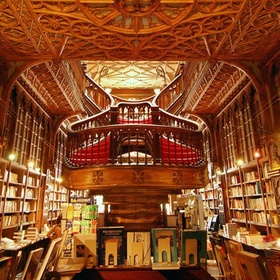 Go to the Lello Bookstore in Porto, Portugal - Bucket List Ideas