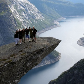 Visit Trolltunga Hordaland Norway - Bucket List Ideas