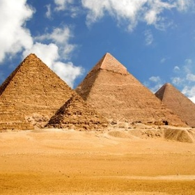Visit the Pyramids in Egypt - Bucket List Ideas