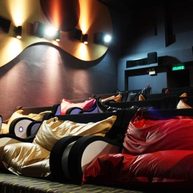 Go to a Bean Bag/ Pillow Cinema - Bucket List Ideas