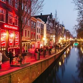 Walk through the Red Light District in Amsterdam - Bucket List Ideas
