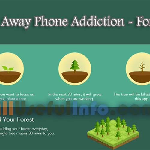 Use Forest app stay focused for a week without killing any trees - Bucket List Ideas