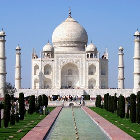 See the taj mahal in india - Bucket List Ideas