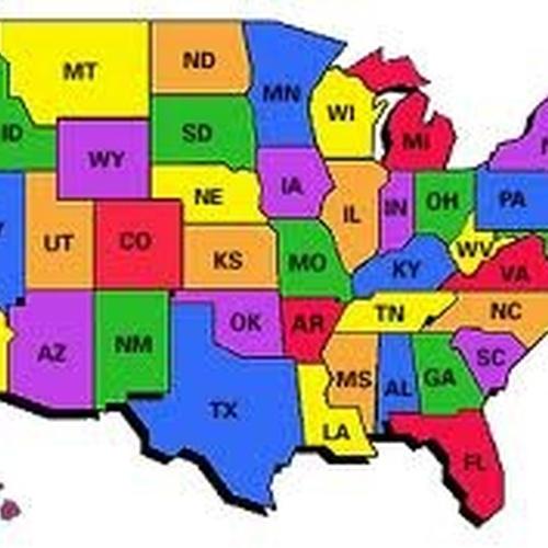 Bucketlist » Visit all 50 states (Official Bucket List)