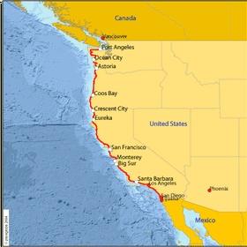 Visit the west coast (US) - Bucket List Ideas