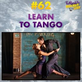 Learn to Tango - Bucket List Ideas