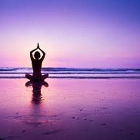 Do yoga on the beach at sunrise or sunset🌄🌅 - Bucket List Ideas