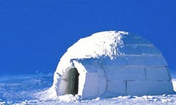 Build an igloo - Bucket List Ideas