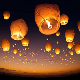 Float a Lantern - Bucket List Ideas