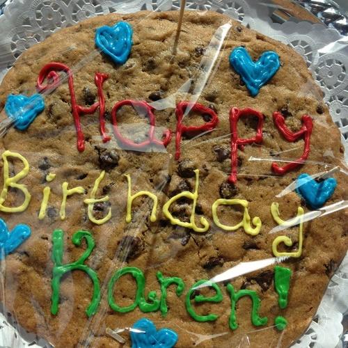 Bake a GIANT cookie - Bucket List Ideas