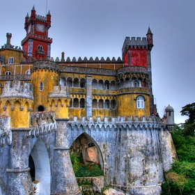 Visit Pena palace ~Portugal - Bucket List Ideas