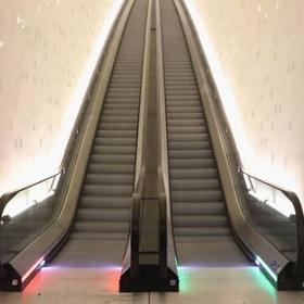 Run the opposite way up the escalators - Bucket List Ideas