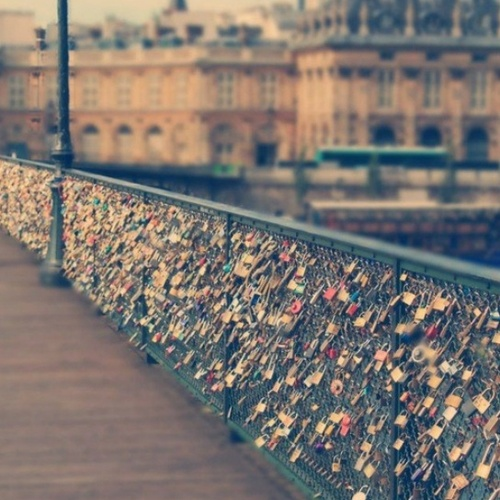 Add to the love lock bridge in Paris - Bucket List Ideas