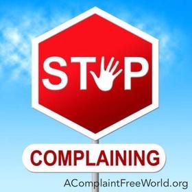 Stop complaining - Bucket List Ideas