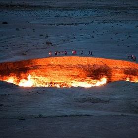 Stand in Front of the Door to Hell in Turkmenistan - Bucket List Ideas