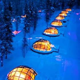 Stay in a Glass Igloo in Finland - Bucket List Ideas
