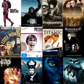 Own  movie from each year starting from 1920 - Bucket List Ideas