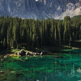 Lake Carezza, Dolomites, Trentino-Alto Adige, Italy - Bucket List Ideas