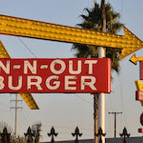 Eat at In N Out Burger - Bucket List Ideas