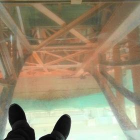 WALK ON THE GLASS UP BLACKPOOL TOWER - Bucket List Ideas