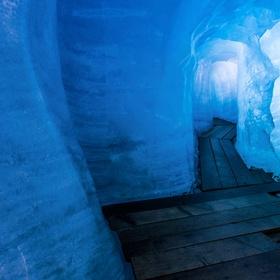 Walk through the ice grotto of Rhone Glacier - Bucket List Ideas