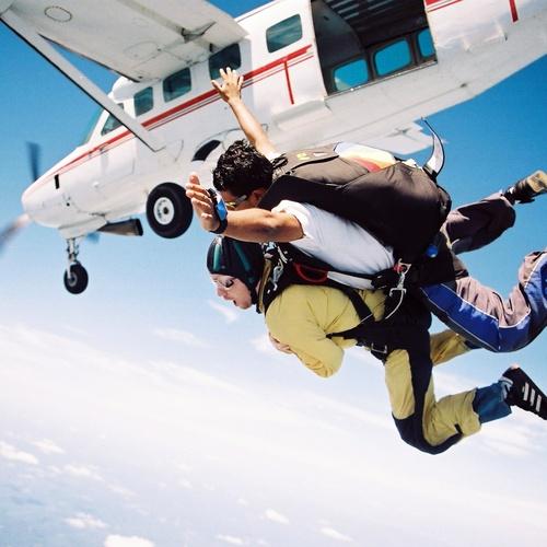 Sky diving - Bucket List Ideas