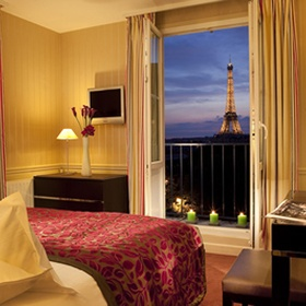 Have a room with a view in Paris France - Bucket List Ideas