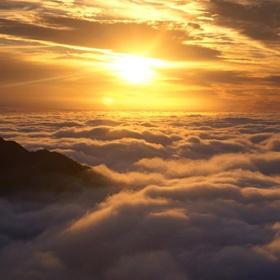 Climb Mountain Above Clouds - Bucket List Ideas