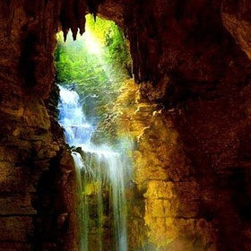 Amazing Cave Waterfall - Bucket List Ideas