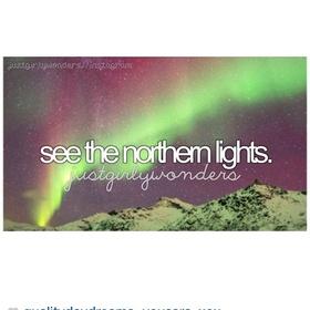 See the Northern Lights, again - Bucket List Ideas