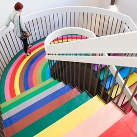 Go to The Color Factory - Bucket List Ideas