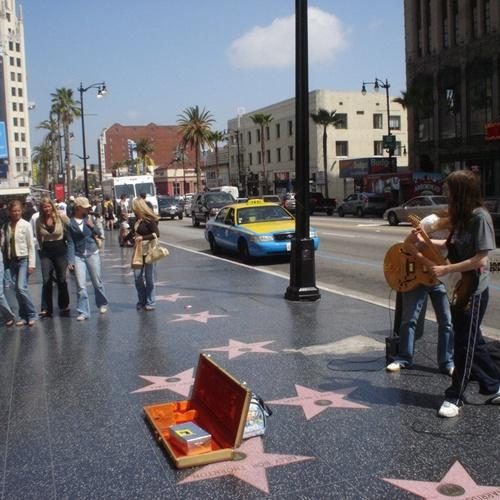 Visit the walk of fame - Bucket List Ideas