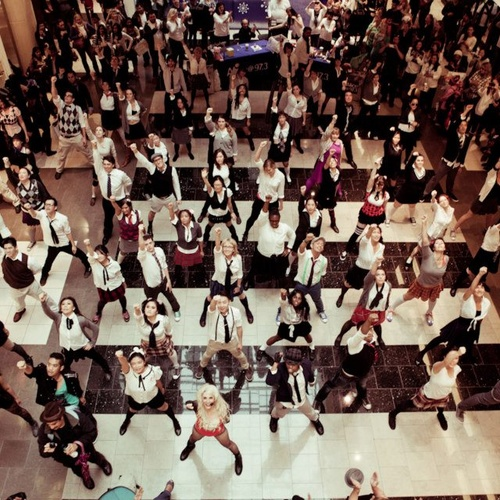 Be in a flash mob - Bucket List Ideas